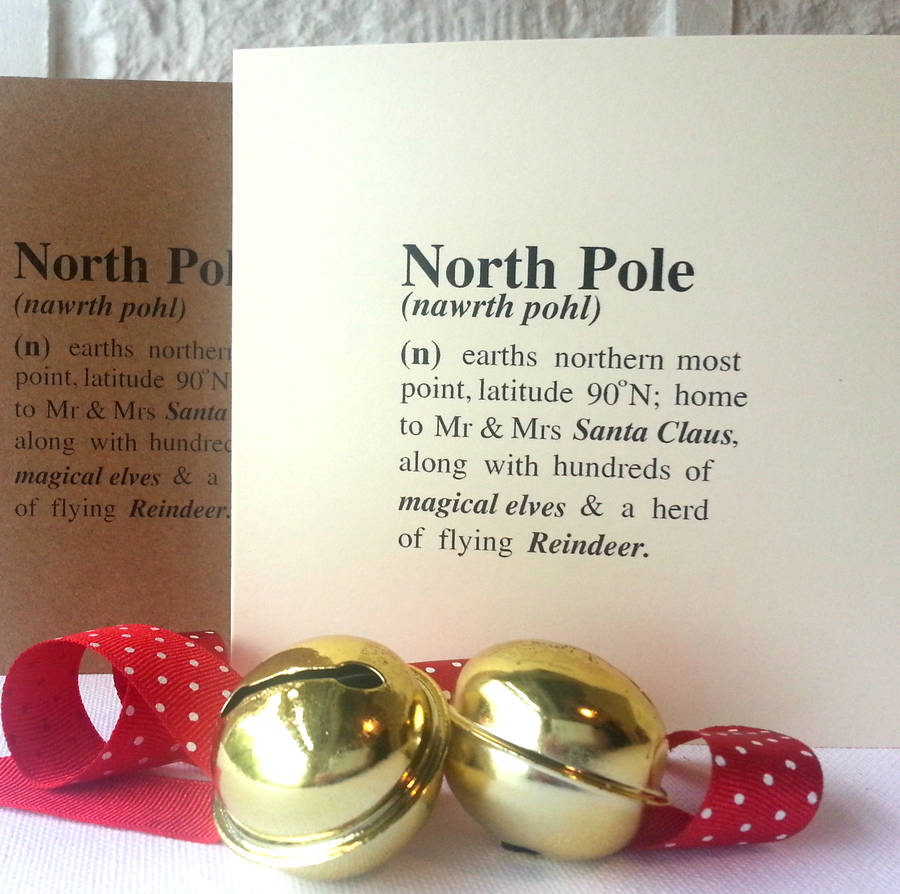 original_christmas definition card north pole - What Is The Definition Of Christmas