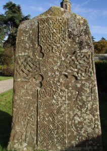 October 25th Photograph Pictish Stone Glamis Scotland