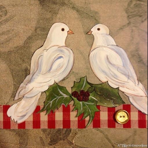Christmas Tree Doves: Emma Ruthven-Stevenson